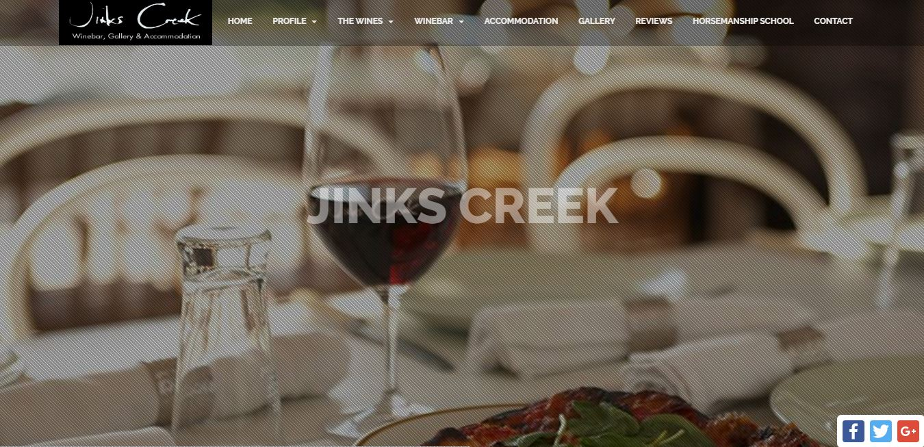 Jinks Creek Winery Site